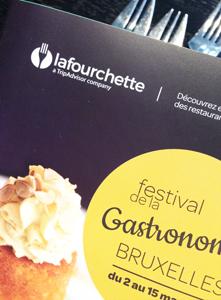 1er Festival de la gastronomie La Fourchette – à Bruxelles