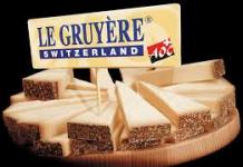 Le gruyère AOP Suisse
