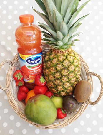 Le jus Ocean Spray Cranberry & Multifruits