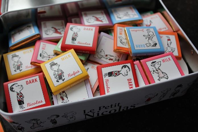 chocolats petit Nicolas