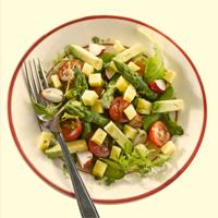 Salade fraicheur au Comté