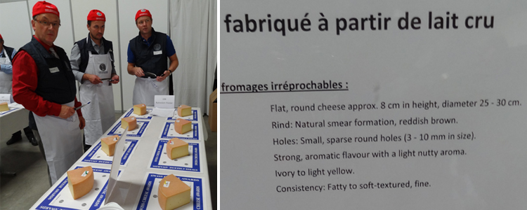 Swiss Cheese Awards - A la découverte des fromages Suisse