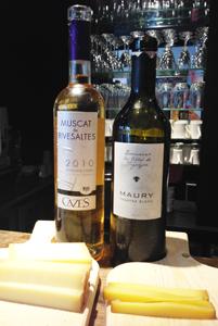 Association vins doux et Comté