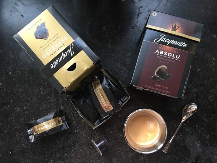 Les nouvelles capsules de café Jacqmotte