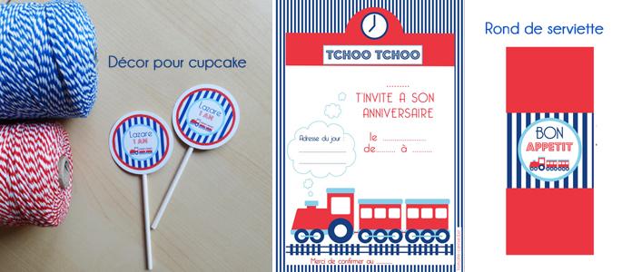 TomateCerise-decoration-anniversaire-train-topper-personnalisé