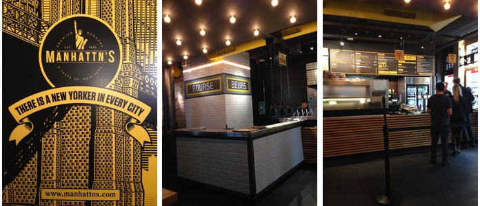 Bruxelles | Manhattn's burger Bourse