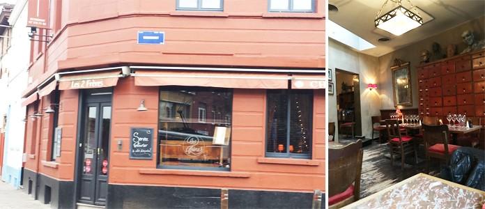 Les deux fr res restaurant bruxelles uccle for Meuble alsemberg
