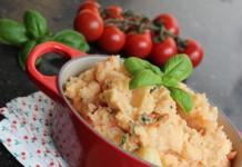 Stoemp tomates & basilic #stoempbelgetarien