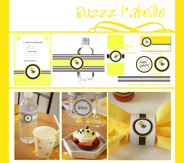 Buzz l'abeille | Imprimable
