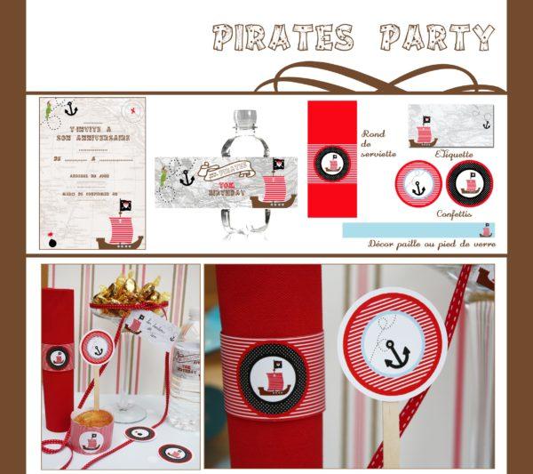 Anniversaire Pirates | Imprimable