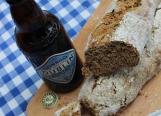 Pain à la bière Irlandaise Guinness