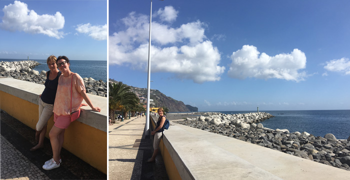 funchal promenade mer