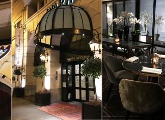 The avenue, restaurant de l'hôtel Barsey à Bruxelles
