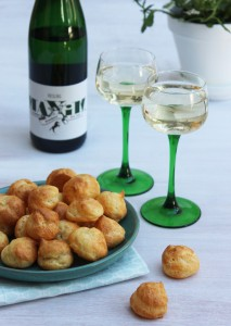 Riesling et Gougères | Vins Pirard