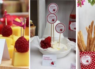 Imprimable Gratuit - Buffet de fromages de Suisse