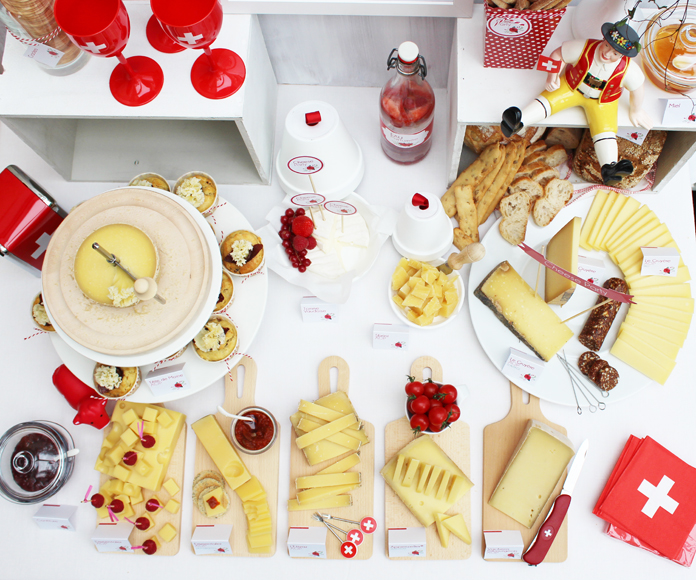 Cheese Party - Buffet de fromages de Suisse