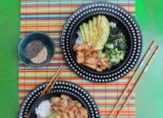 Donburi au poulet | Cahier de recettes Printemps Eté 2016