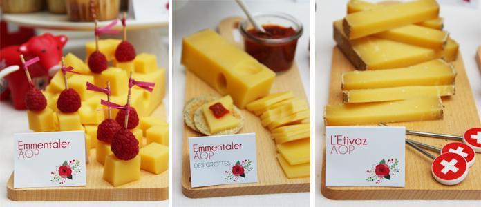 Découpe de fromages