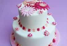 Gâteau fleuri | Cahier de recettes Printemps Eté 2016