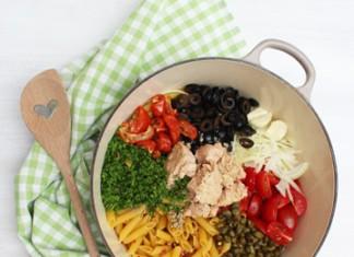 One pot pasta au thon | Cahier de recettes Printemps Eté 2016
