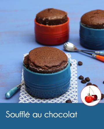Soufflé au chocolat | Cahier de recettes Printemps Eté 2016