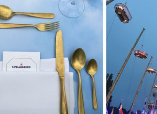 Les S.Pellegrino Young Talents décollent à Dinner in the Sky