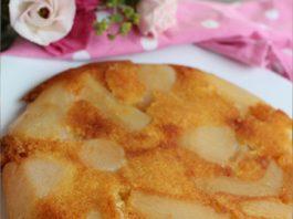 Cake aux poires à la poêle