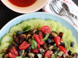 Une jolie salade avec des moches légumes