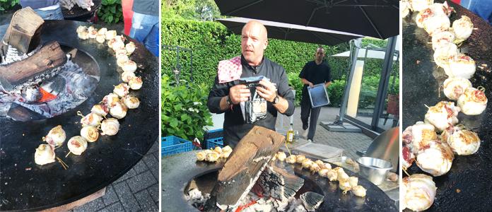 Une soirée barbecue organisée par Carrefour