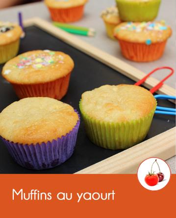 Muffins au yaourt