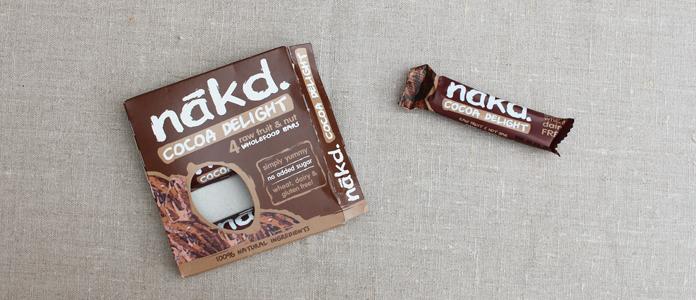 Cacao delicght Nãkd l'encas sain, vegan, sans gluten