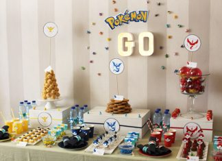 Une décoration d'anniversaire Pokémon Go | Imprimable Gratuit