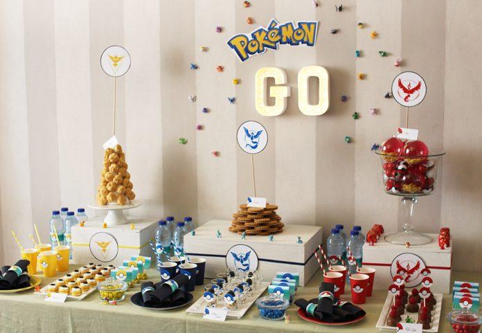 Decoration Table Pokemon Anniversaire