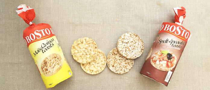 Bosto galette de riz quinoa épautre