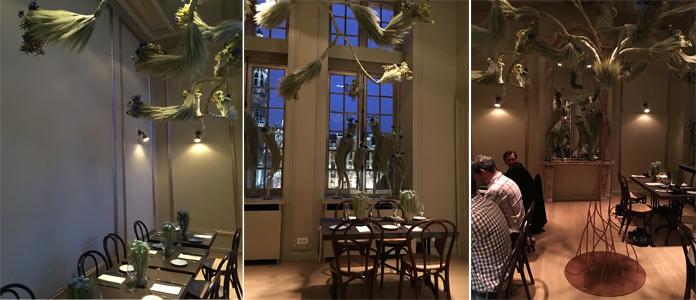 Brewed by Nature, un restaurant éphémère sur la Grand Place de Bruxelles