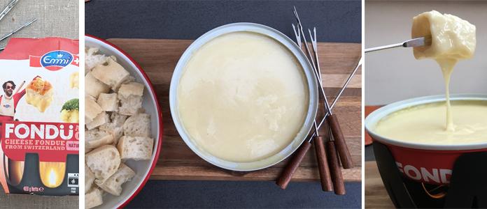 La fondu fromage Emmi