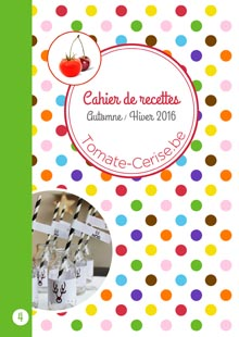 Cahier de recettes automne hiver 2016
