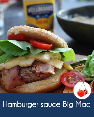 Hamburger sauce Big Mac