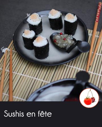 Sushis en fête