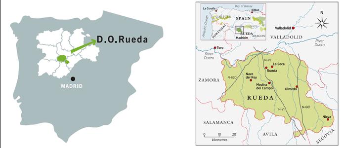 Rueda région espagne