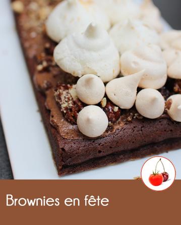 Brownies en fête