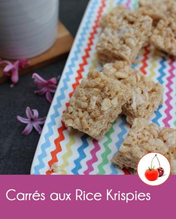 Carrés aux rice krispies