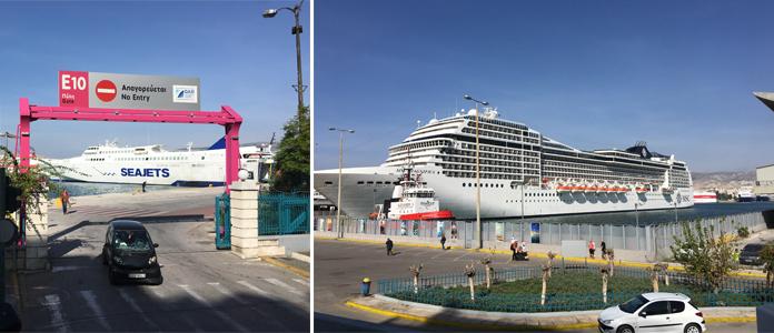 Visite du port du Pirée à 30 minutes de la capitale d'Athènes