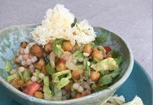 Salade de pâtes à la Tête de Moine AOP