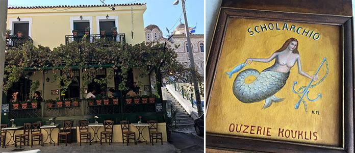 Ouzerie Kouklis restaurant Athènes
