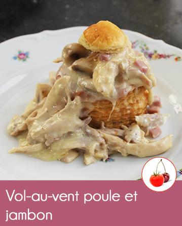Vol Au Vent Poule Et Jambon La Recette Tradition En Video