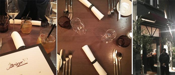 Brinz'l restaurant gastronomique | Uccle Bruxelles