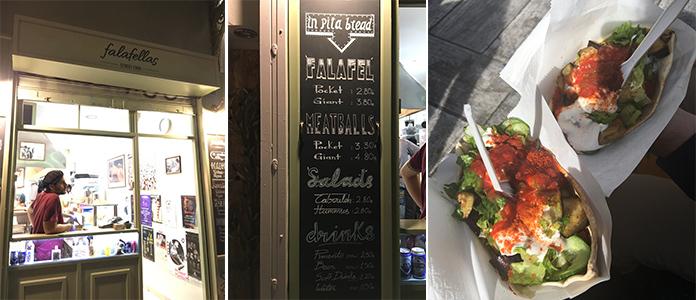 Falafellas restaurant Athènes