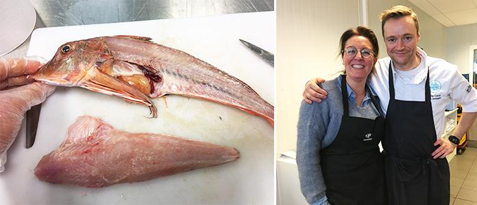 Le poisson sur les étals belge, visite de la criée à Zeebrugge et atelier avec le chef Filip Claeys