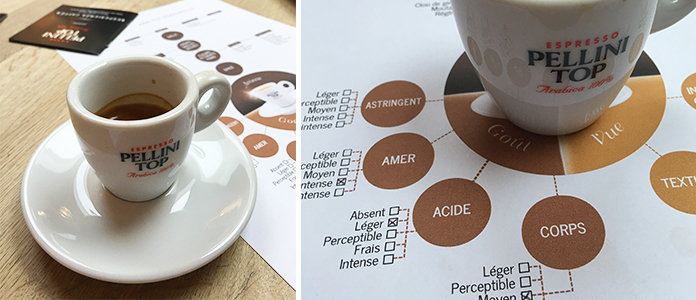 Atelier sensoriel autour du café Pellini – une expérience au top !